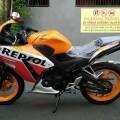 Honda New CBR 150 R REPSOL 2014 Km 8 rb Kond Spt Baru & Original 100%