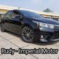 Toyota Altis V 1.8 AT 2015 Km 58Rb Pajak Panjang Tgn 1 Plat Ganjil