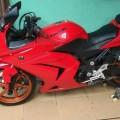 Dijual Motor Kawasaki Ninja 250R tahun 2009 bekas