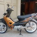 Honda Supra Fit New CW 2007 Hitam Coklat Limited Edition Pajak Isi Pjg