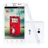 LG Optimus L80 D380 - Putih + Flip Cover + Perdana Simpati