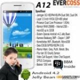 Smartphone EVERCOSS A12 Handpone Android 4.2 Jelly Bean Dengan Harga Murah
