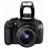 Canon EOS 1200D Lensa Kit 18-55 mm - 18 MP - Hitam