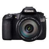 Canon EOS 60D Lensa Kit 18-200mm IS - 18 MP - Hitam