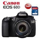 Canon EOS 60D Lensa Kit 18-135mm IS - 18 MP Free Sandisk 16gb