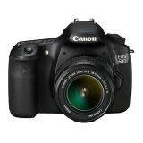 Canon EOS 60D Kit 18-55 mm IS - Hitam