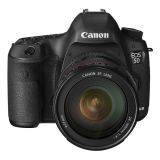 Canon EOS 5D Mark III - Lensa Kit 24-105mm - 22.3 MP - Hitam