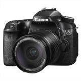 Canon EOS 70D Wifi Digital Camera Kit 18-200mm IS Lens -20.2MP - Hitam