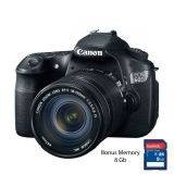 Canon Kamera EOS 60D Kit EF-S 18-135mm IS - Hitam + Free Memory 8GB