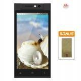 Himax Pure III Octa Core - Dual SIM - Hitam + Bonus Case, Screen Guard