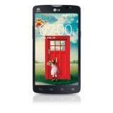 LG Optimus L80 D380 - Hitam + Flip Cover + Perdana Simpati