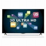 "LG 49"" Ultra HD 4K 3D Smart TV Hitam - 49UB850T"