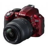 Nikon D-SLR D3100 KIT - Red