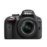 Nikon D-SLR D3300 Digital SLR Camera 24MP - Hitam