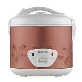 DOMO Rice Cooker [DR 1802 P] - Pink / Purple Flower