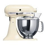 KitchenAid Artisan 4.8 L Tilt-Head Stand Mixer [5KSM150PSEAC] - Almond Cream