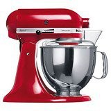 KitchenAid Artisan 4.8 L Tilt-Head Stand Mixer [5KSM150PSEER] - Red