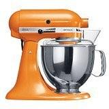 KitchenAid Artisan 4.8 L Tilt-Head Stand Mixer [5KSM150PSETG] - Tangerine