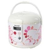 SHARP Rice Cooker Touch Panel [KS-T18TL] - Red