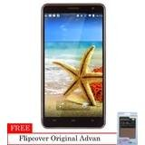 Advan Start Note S5L - 8 GB - KitKat 4.4 + Flipcover Original - Coffee