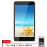Advan Start Note S5L - 8 GB - KitKat 4.4 + Flipcover Original - Grey