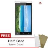 Himax Zoom Hexa Core - Dual SIM - 8 GB - Putih + Bonus Hard Case & Screen Guard