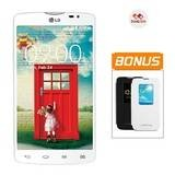 LG Optimus L80 D380 - Putih + Flip Cover