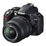 Nikon D3100 KIT Digital SLR KIT - 20 MP - Hitam