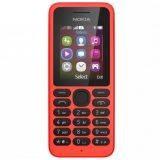 Nokia 130 Single Sim - Red - Free MicroSD 8GB