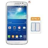 Samsung Galaxy Grand 2 Duos G7102 - Dual SIM - White + Bonus Soft Case Blue