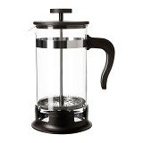IKEA PRODUCTS Upphetta Coffee and Tea Maker Glass Stainless Steel (V)