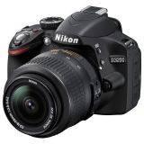 Nikon D-SLR D3100 Kit 18-55 VR Hitam