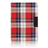 Simplism Smart Fabric Flip Red Check for iPad Mini Retina