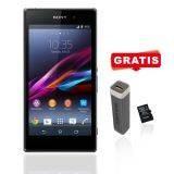Sony Xperia SM D2105 XP E1 Dual SIM - Black + Free Powerbank 2500 MAH + Micro SD 8gb Toshiba