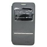 Ume Samsung Galaxy Core 2 G355H Flip Cover View Sense - Hitam
