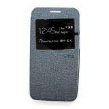 UME Samsung Galaxy Note 4 SM-N910H Flip Cover View - Silver