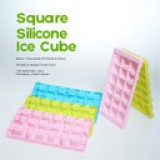 SA (Square Alphabet) Silicone Ice Cube