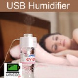 USB Nano Spray Bottle Caps Humidifier Air Purifier with LED